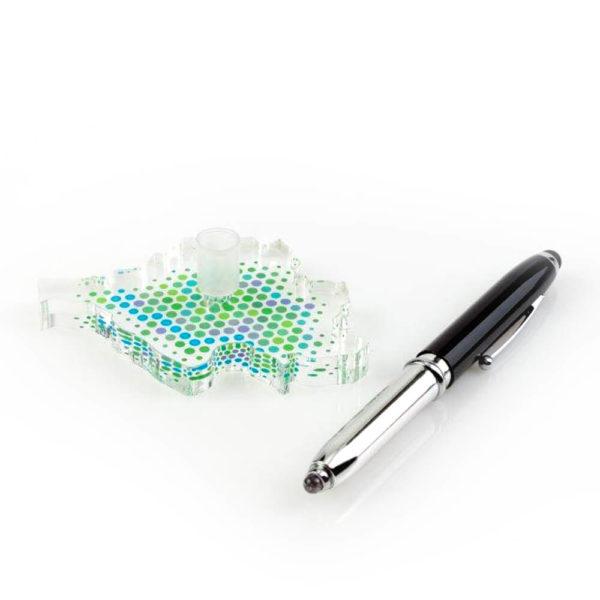 Stifthalter inkl. Kugelschreiber - Saarland Edition