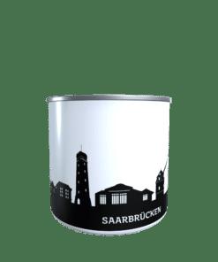 Emaille-Tasse Saarbrücken 2