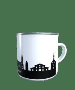 Emaille-Tasse Sankt Ingbert