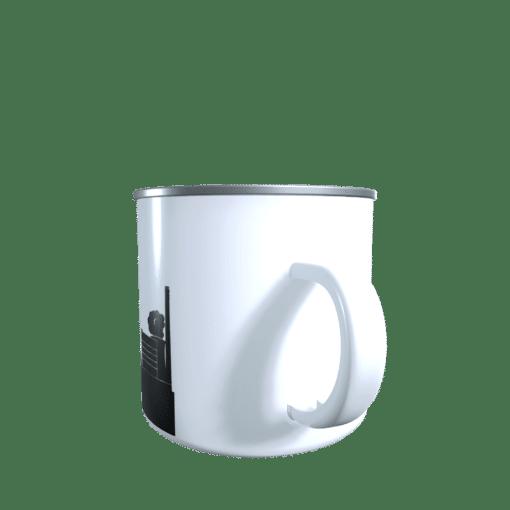 Emaille-Tasse Völklingen