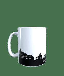 Hochglanz-Keramiktasse Merzig-Wadern