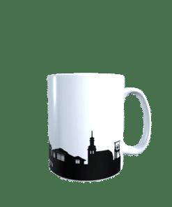 Hochglanz-Keramiktasse Saarbrücken 1