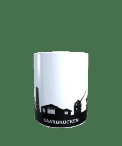 Hochglanz-Keramiktasse Saarbrücken 2