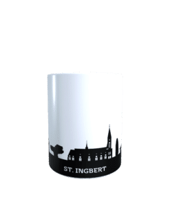 Hochglanz-Keramiktasse Sankt Ingbert