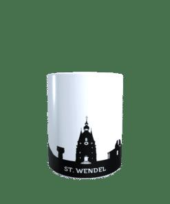 Hochglanz-Keramiktasse Sankt Wendel