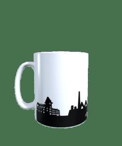 Hochglanz-Keramiktasse Region Völklingen